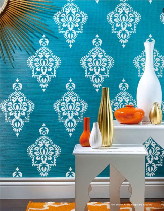 Wall Stencil  Moroccan Allower Pattern Wall Room by OMGstencils, $33.00:
