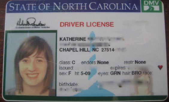 North Carolina Driver S License Drivers License Are You Happy