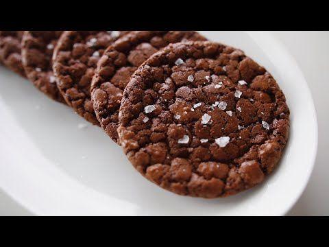 كوكيز براوني Brownie Cookies Youtube Chocolate Chip Recipes Desserts Food
