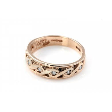 Chapmans Vintage Diamond Ring