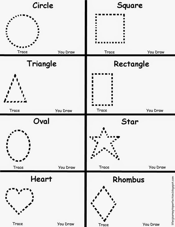 Number Names Worksheets shape worksheets for preschoolers : Pinterest • The world's catalog of ideas