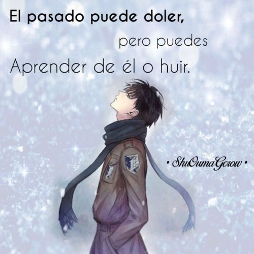 Anime Frases Frases Anime Sentimientos Shuoumagcrow Dolor Frases