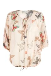 BUTTERFLY BY MATTHEW WILLIAMSON EMBELLISHED BLOUSE  Debenhams  Guide price: £25