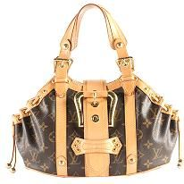 Louis Vuitton Limited Edition Monogram Canvas Theda GM Satchel Handbag