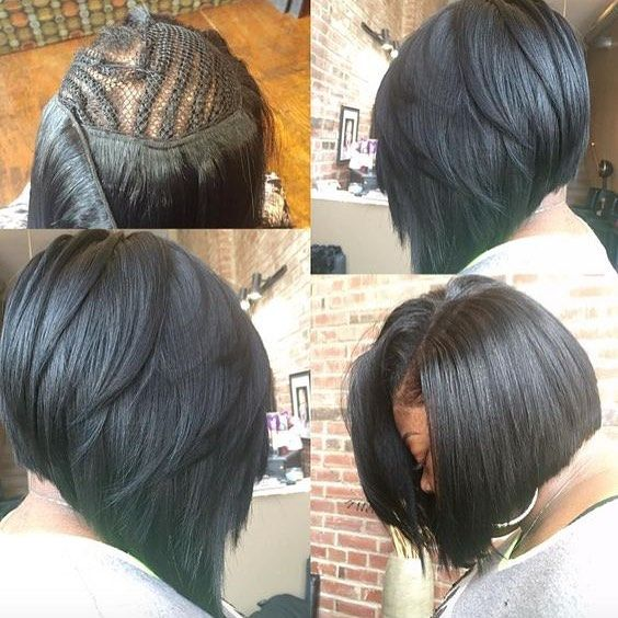 Beautiful Sewing Bob Just Need 8 10 Inch Hair Bundles Aliqueen Bobhaircut Virginhair Laceclosure Hair Styles Long Hair Styles Hair