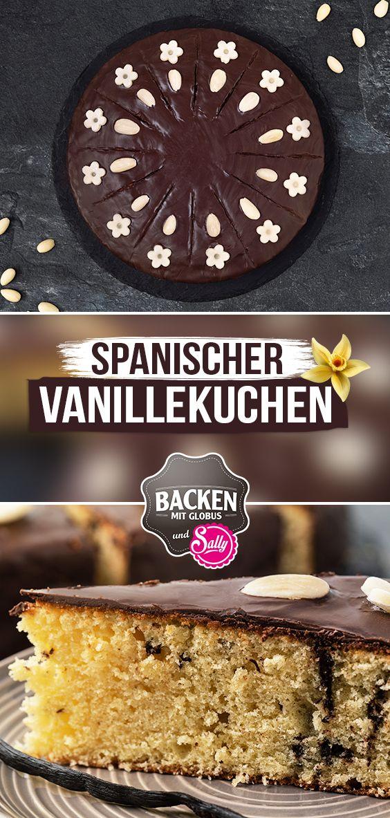 Spanischer Vanillekuchen Mit Marzipan Kuchen Und Torten Vanillekuchen Kuchen