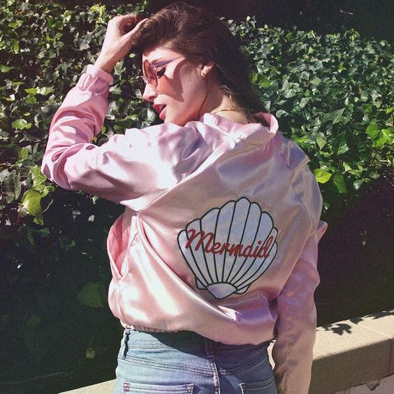 Mermaid Bomber Jacket - Valfre - 4: