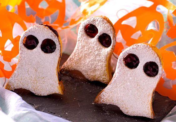 Petits fantômesVoir la recette desPetits fantômes >>