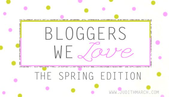 Take a look at some of our favorite fashion bloggers this spring. Live on the Judith March blog  www.JudithMarch.blogspot.com