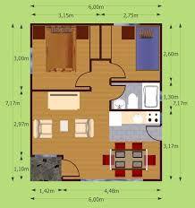 Plano de caba as de madera 3d buscar con google planos for Cabanas de madera baratas
