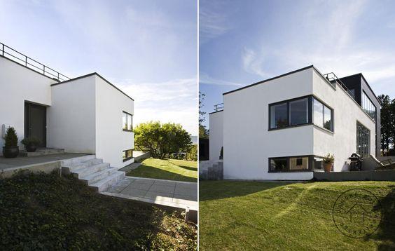 Villa Årstiderne arkitekter arkitekt ombygning tilbygning moderne ...