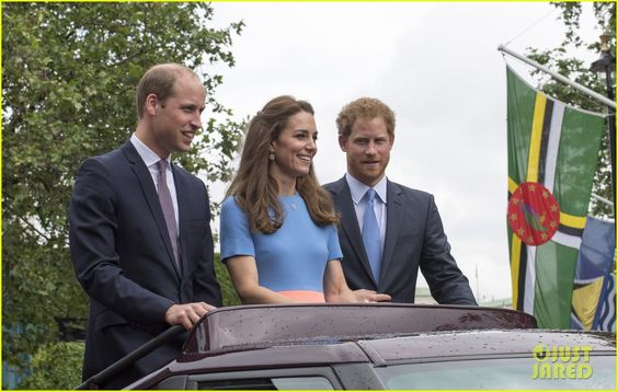 Princes William & Harry Join Kate Middleton at Queen Elizabeth's 90th Birthday Patron Lunch