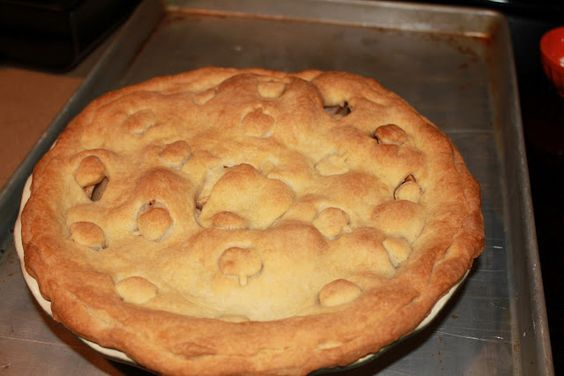 Inspired Ginger: Apple Pie, my go to apple pie