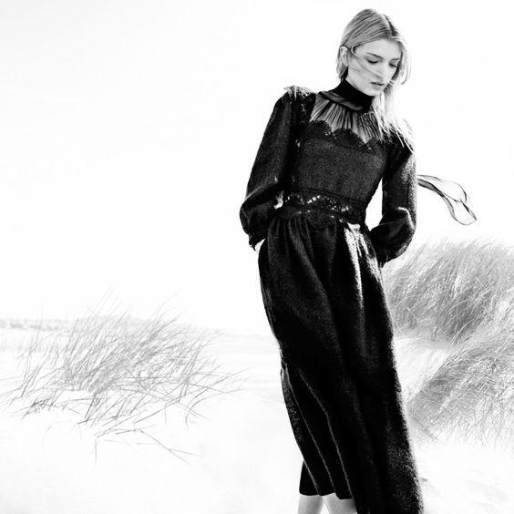 Fashion Editorial: Lily Donaldson for Harper's Bazaar UK October 2015