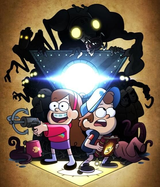 Confirmed by Alex Hirsch this is a season 2 promo pic! So much to analyze!! I'm so excited repin this if ur excited for season 2 ♡♡ comes out August 1st!!