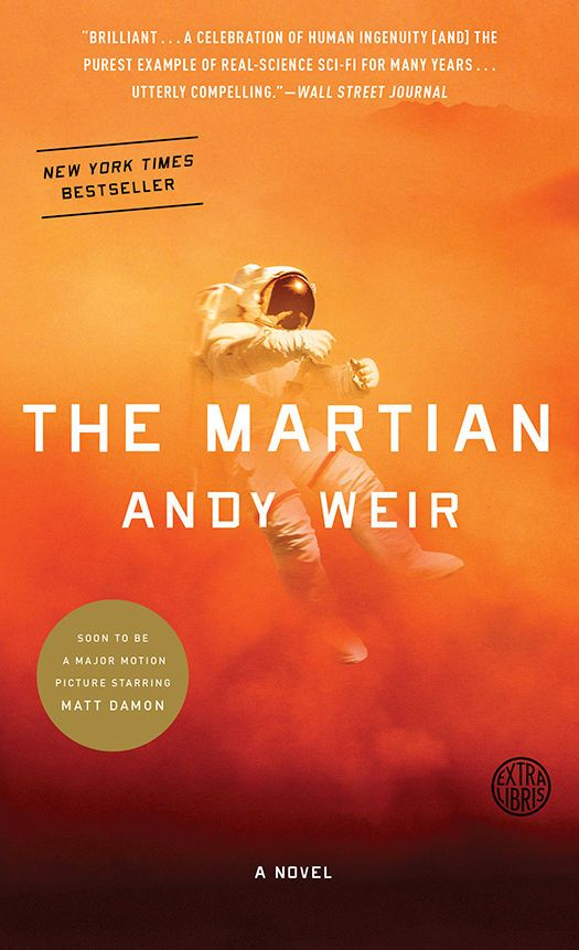 Mary picked up The Martian: A Novel eBook: Andy Weir: Kindle Store http://www.amazon.com/The-Martian-Novel-Andy-Weir-ebook/dp/B00EMXBDMA?utm_content=buffer5eb07&utm_medium=social&utm_source=pinterest.com&utm_campaign=buffer