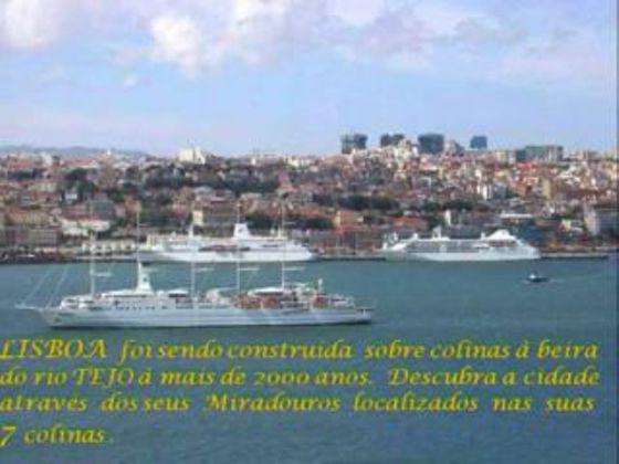 Lisboa vista dos seus Miradouros, instalados nas suas 7 Colinas. Vistas deslumbrantes de uma Cidade única ...