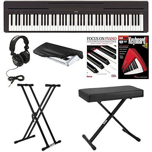 Yamaha P45b Digital Piano With Knox Bench Knox Double X S Yamaha Digital Piano Digital Piano Best Digital Piano