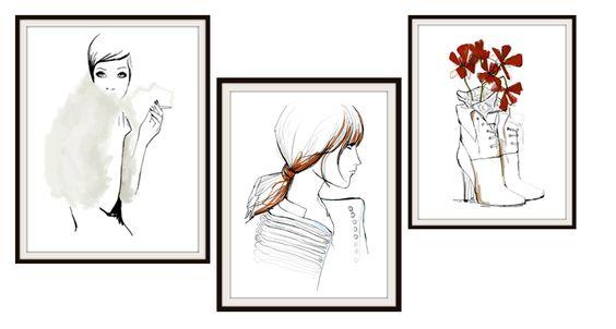 As ilustrações de Garance Doré