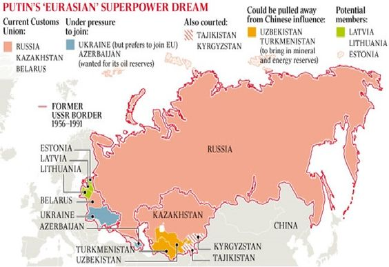 From 2011: Putins plans for a Eurasian superpower: