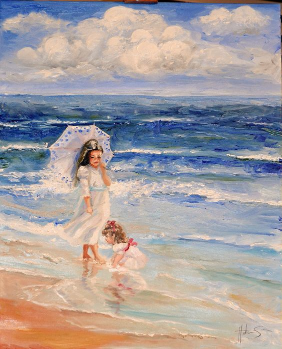 Oil Painting by Heather Sorensen. Visit her website at  http://www.heather-art.com/
