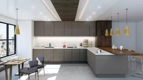 43 Brilliant L Shaped Kitchen Designs 2020 A Review On Kitchen