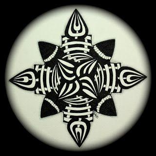 The Bright Owl: Zendala Dare #22a