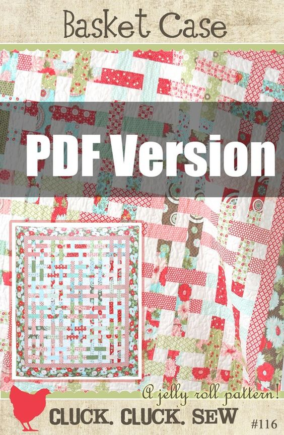 $8 downloadable quilt pattern from Cluck Cluck Sew