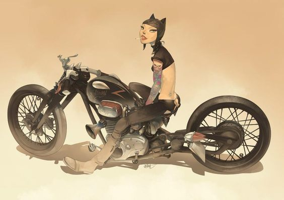 Selina Catwoman Racer