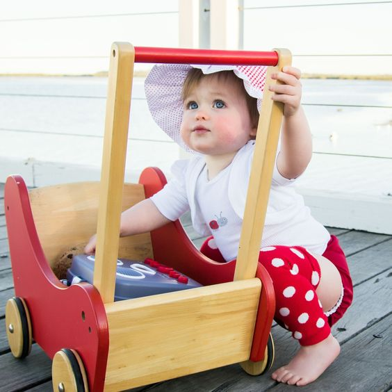 More Wintery fun on the dock of the bay in our Red Tadpole Cloth Nappy!
