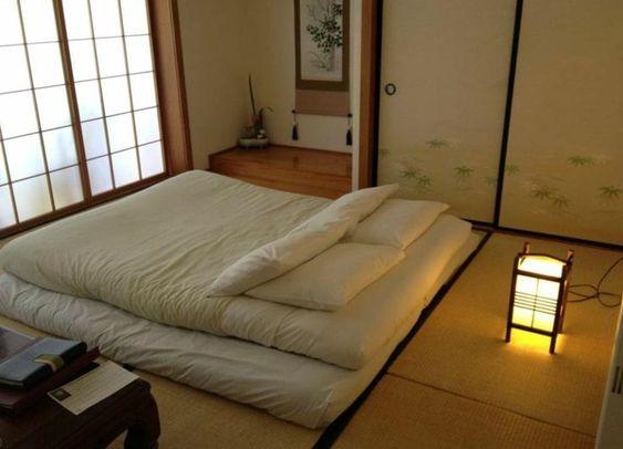 chambre à coucher traditionnelle japonaise | Architecture ...