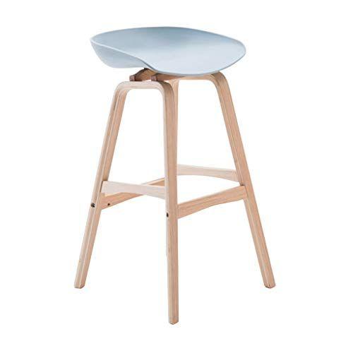 Bar Stools Footrest Wood Backrest Dining Chairs For Kitchen Pub Bar Contemporary Plastic Barstools High Bar Furniture Modern Wood Bar Stools Wooden Bar Stools