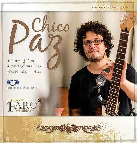 Começando uma semana que com certeza será muito legal e muito musical. Um dos motivos, sábado tem show na cidade de Canela, Serra Gaúcha Cervejaria Do Farol Dia 11.07