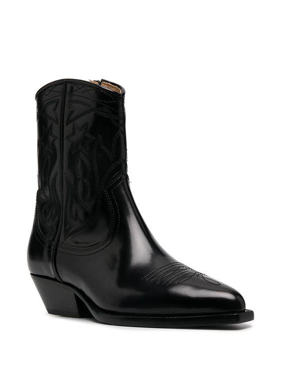 Sandro Paris Jim Cowboy Boots
