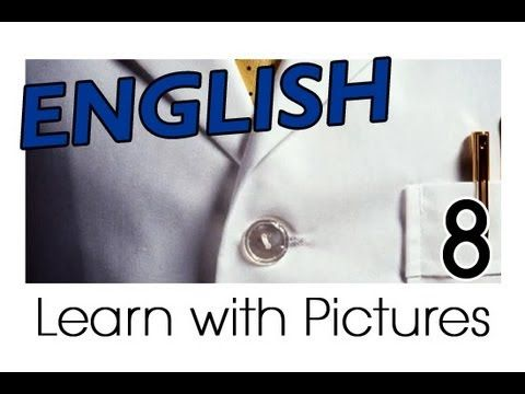 CLOTHING Vocabulary: Video - words and images (See, hear and say the words. US-English pronunciation)
