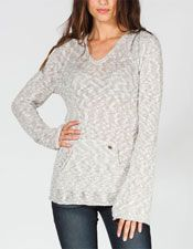 White Caps Womens Hooded Sweater -