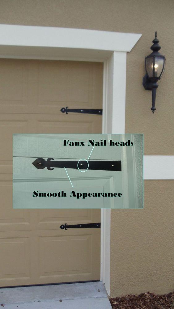 Magnetic Garage Door Decorative Hardware Kit Hinges Fleur De Lis Carriage House Garage Door Decorative Hardware Contemporary Garage Doors Garage Door Styles