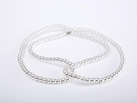 Silver Sling Necklace 925 AG | Hatch Jewelry | Price: $260.00