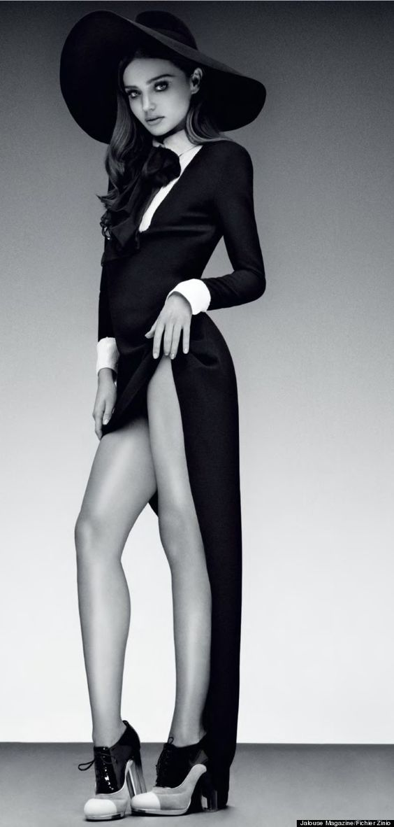 Miranda Kerr poses for Jalouse magazine