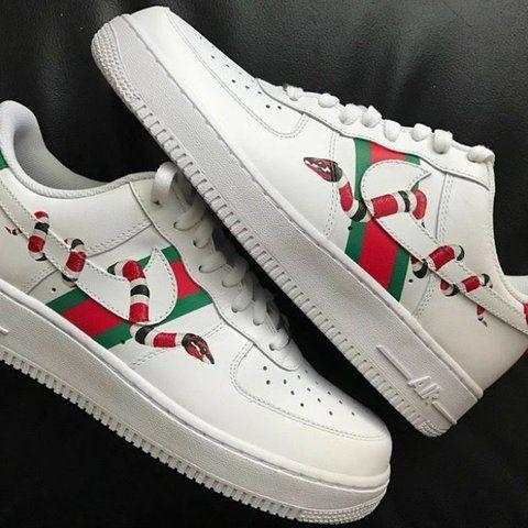 Nike X Gucci // Air Force | Custom nike