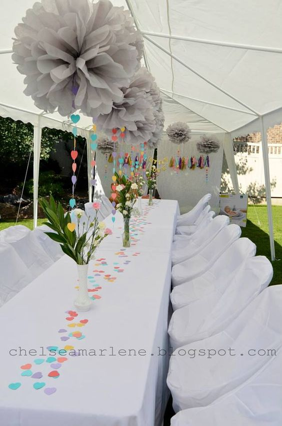 Baby Shower Umbrella Ideas ~ Umbrella baby shower with love rain