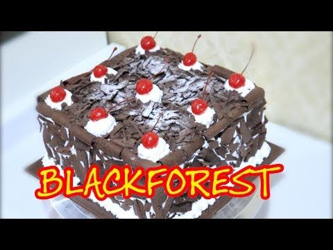 Resep Black Forest Kue Ultah Legendaris Youtube Resep