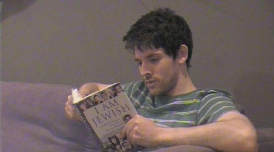 Colin Morgan in jealousy, a short movie