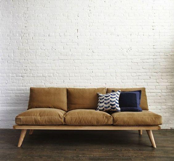 Modelos de sofás de madeira: