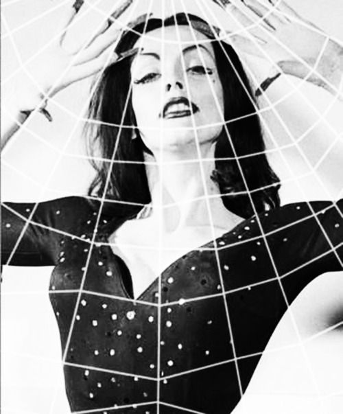 Maila Nurmi as Vampira, 1950s.: