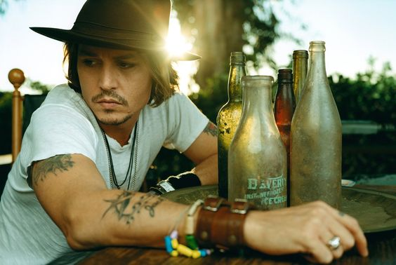 CLM - Photography - Norman Jean Roy - johnny depp