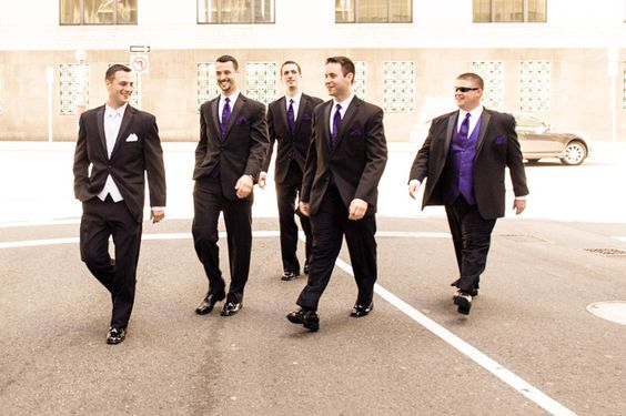 Have your photographer get informal shots of the guys walking. Gina and Matt's love shone like the brightest beacon in New England during their wedding at the Downtown Harvard Club » Fucci's Photos of Boston–Something Blue Blog | Boston Wedding Photographer