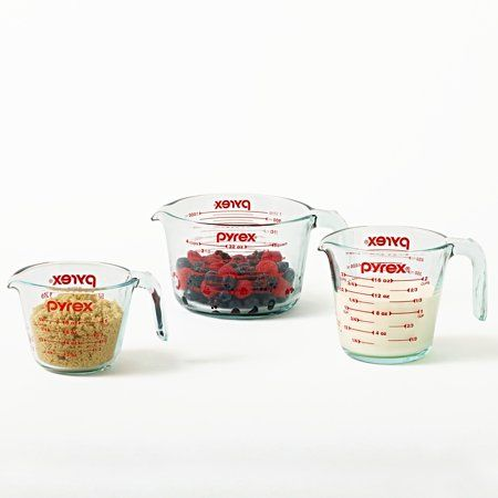 Home Measuring Cups Pyrex Glass Measuring Cup