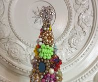 Cluster Earring Cone Tree