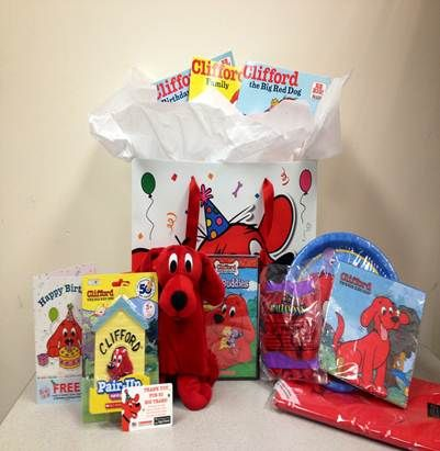 Happy 50th Birthday to Clifford the Big Red Dog! (Giveaway 5 winners, US